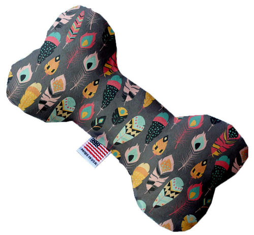 Gray Feathers Wanderlust Inch Bone Dog Toy-Made in the USA-Bella's PetStor