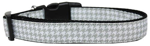 Grey Houndstooth Nylon Dog-DOGS-Bella's PetStor