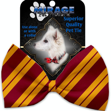 Gryffindog Pet Bow Tie Collar Accessory With Velcro-Bow Ties-Bella's PetStor