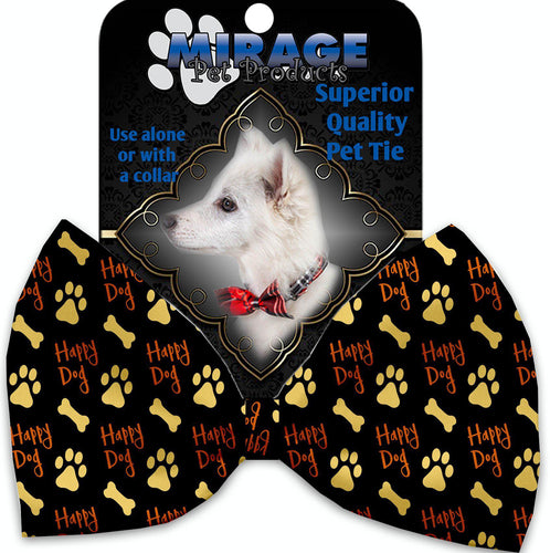 Happy Dog Pet Bow Tie Collar Accessory With Velcro-Bow Ties-Bella's PetStor