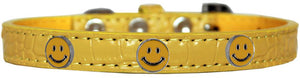 Happy Face Widget Croc Dog Collar Size-DOGS-Bella's PetStor