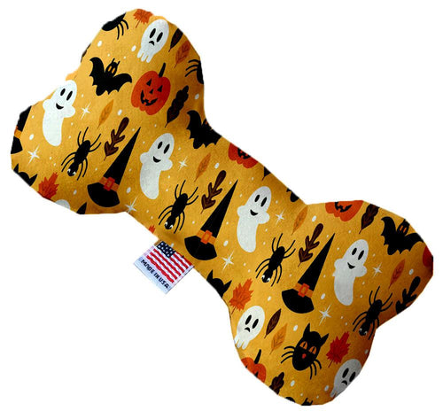 Happy Halloween Inch Canvas Bone Dog Toy-Made in the USA-Bella's PetStor