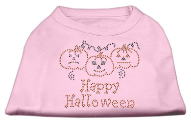 Happy Halloween Rhinestone Shirts-Holidays-Bella's PetStor