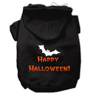 Happy Halloween Screen Print Pet Hoodies-Dog Clothing-Bella's PetStor