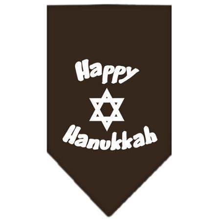 Happy Hanukkah Screen Print Bandana-Christmas, Hannakuh-Bella's PetStor