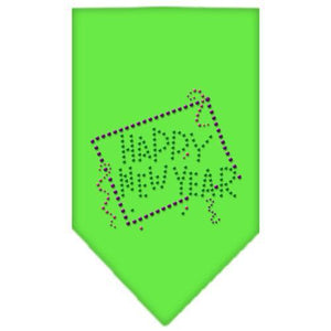 Happy New Year Rhinestone Bandana-Dog Clothing-Bella's PetStor