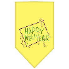 Load image into Gallery viewer, Happy New Year Rhinestone Bandana-Dog Clothing-Bella's PetStor