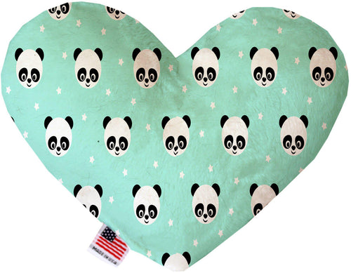 Happy Pandas Inch Canvas Heart Dog Toy-Made in the USA-Bella's PetStor