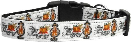 Happy Thanksgiving Nylon Collar-Thanksgiving-Bella's PetStor