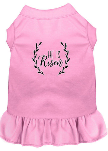 He Is Risen Screen Print Dog Dress-Easter-Bella's PetStor