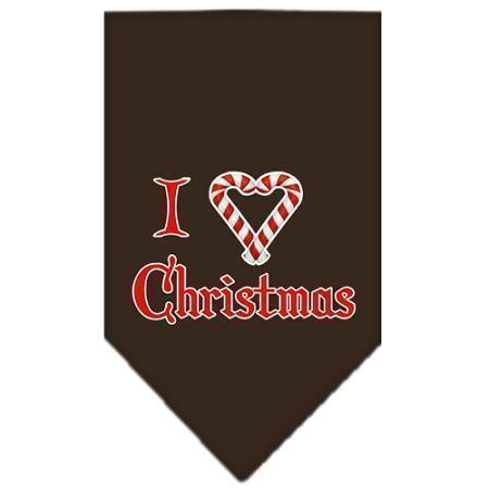 Heart Christmas Screen Print Bandana-Christmas, Hannakuh-Bella's PetStor