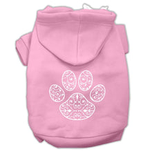 Load image into Gallery viewer, Henna Paw Screen Print Pet Hoodies Size-Dog Clothing-Bella's PetStor