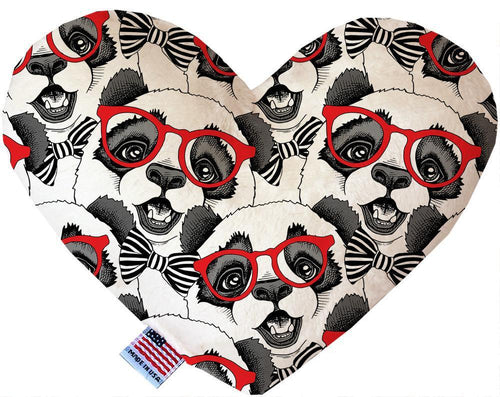 Hip Pandas Inch Canvas Heart Dog Toy-Made in the USA-Bella's PetStor