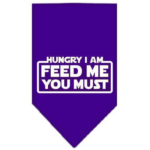 Hungry I Am Screen Print Bandana-Neckwear-Bella's PetStor