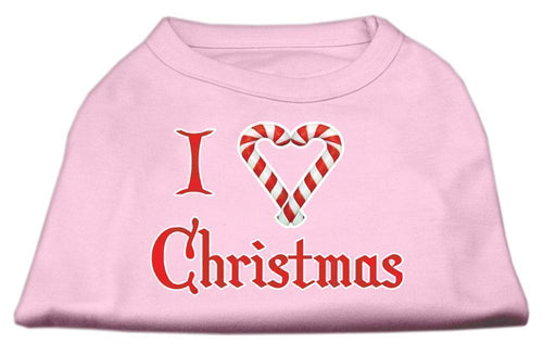 I Heart Christmas Screen Print Shirt-Christmas, Hannakuh-Bella's PetStor