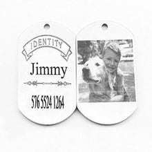 Load image into Gallery viewer, ID Tags, Personalized, Custom-Overseas-Bella's PetStor