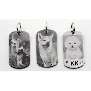 ID Tags, Personalized, Custom-Overseas-Bella's PetStor