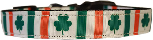 Irish Pride Nylon Cat Safety Collar-Cat Collars-Bella's PetStor