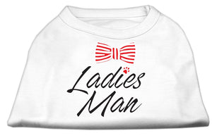Ladies Man Screen Print Dog Shirt-General-Bella's PetStor