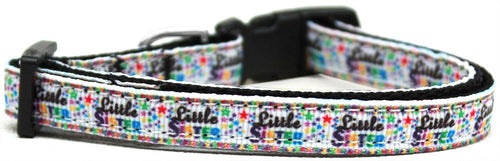 Little Sister Nylon Ribbon Cat Safety Collar-Dog Collars-Bella's PetStor