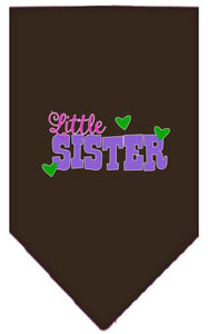 Little Sister Screen Print Bandana-Family-Bella's PetStor