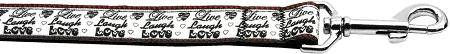 Live Laugh And Love-Dog Collars-Bella's PetStor