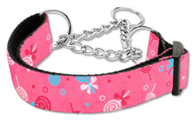 Load image into Gallery viewer, Lollipops Nylon Ribbon Collar Martingale-DOGS-Bella's PetStor