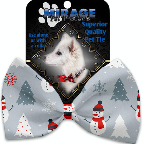 Look At Frosty Go Pet Bow Tie-Christmas, Hannakuh-Bella's PetStor