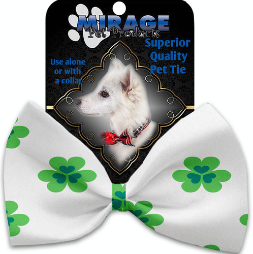 Lucky Charms Pet Bow Tie Collar Accessory With Velcro-Bow Ties-Bella's PetStor