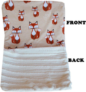 Luxurious Plush Itty Bitty Baby Blanket Foxy-Bedding-Bella's PetStor