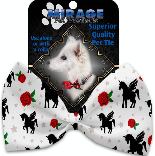 Magical Love Pet Bow Tie Collar Accessory With Velcro-Valentines-Bella's PetStor