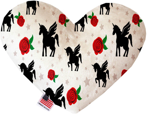 Magical Love Stuffing Free Inch Heart Dog Toy-Valentines-Bella's PetStor