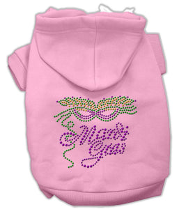 Mardi Gras Rhinestud Hoodies-Dog Clothing-Bella's PetStor