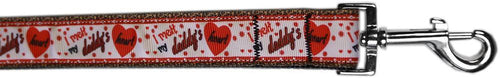 Melt Daddy's Heart Nylon Pet Leash By-Dog Collars-Bella's PetStor