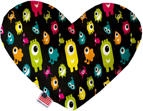 Monster Zoo Inch Canvas Heart Dog Toy-Made in the USA-Bella's PetStor