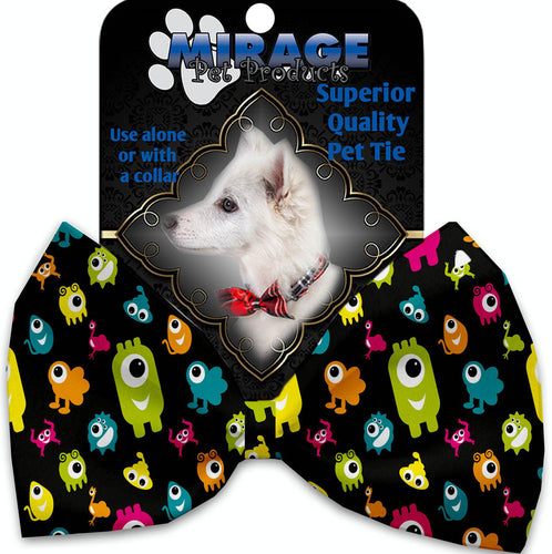 Monster Zoo Pet Bow Tie Collar Accessory With Velcro-Holidays-Bella's PetStor