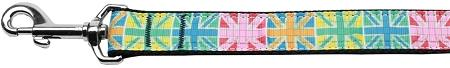 Multi-color Uk Flag Nylon Dog-Dog Collars-Bella's PetStor