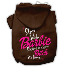 Load image into Gallery viewer, New Bitch In Town Screenprint Hoodie-Valentines-Bella's PetStor