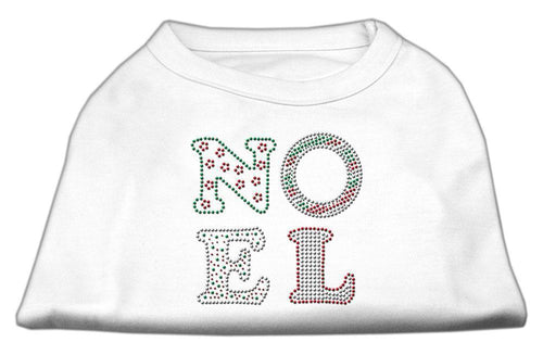 Noel Rhinestone Dog Shirt-Dog Clothing-Bella's PetStor