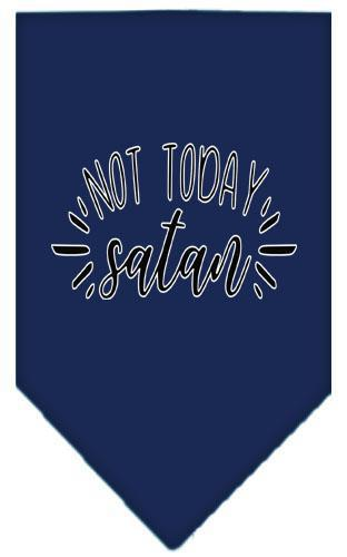 Not Today Satan Screen Print Bandana-Easter-Bella's PetStor