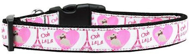 Oh La La Paris Nylon Cat Collar-DOGS-Bella's PetStor