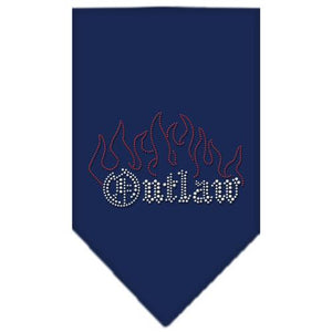 Outlaw Rhinestone Bandana-Dog Clothing-Bella's PetStor