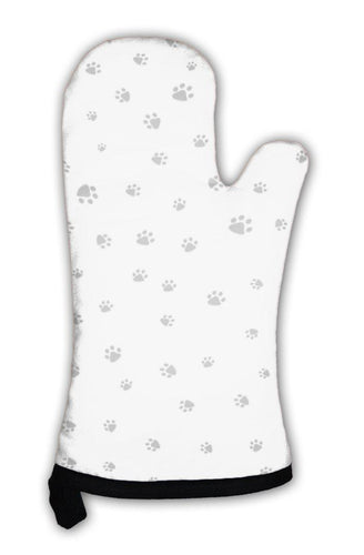 Oven Mitt, Footprint Of Cat And Dog-Oven Mitt-Bella's PetStor