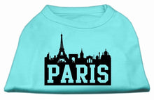 Load image into Gallery viewer, Paris Skyline Screen Print Shirt-Dog Clothing-Bella's PetStor