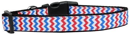 Patriotic Chevrons Nylon Dog-Ties-Bella's PetStor