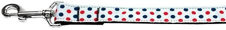Patriotic Polka Dots Nylon Dog-Ties-Bella's PetStor