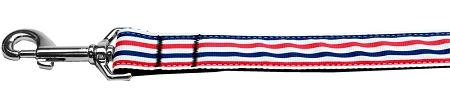 Patriotic Stripes Nylon Dog-Ties-Bella's PetStor