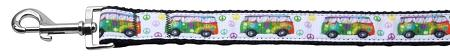 Peace Bus Nylon Dog Leash Inch Wide Long-DOGS-Bella's PetStor