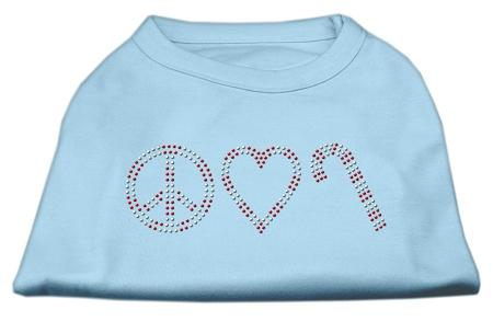Peace, Love, And Candy Canes Shirts-Christmas, Hannakuh-Bella's PetStor