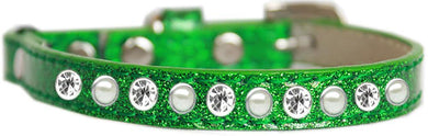 Pearl And Clear Jewel Ice Cream Cat Safety Collar Size-Cat Collars-Bella's PetStor